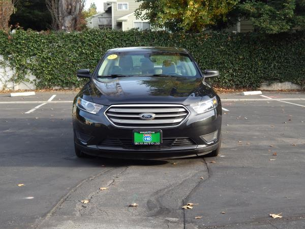 2015 FORD TAURUS black 5 speed automatic 17957 miles Stock 2473 VIN 1FAHP2D95FG154583