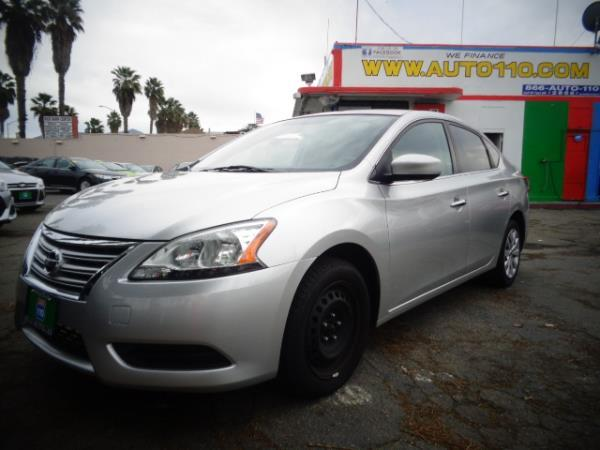 2014 NISSAN SENTRA silver 86586 miles Stock 2478 VIN 3N1AB7AP0EY214196