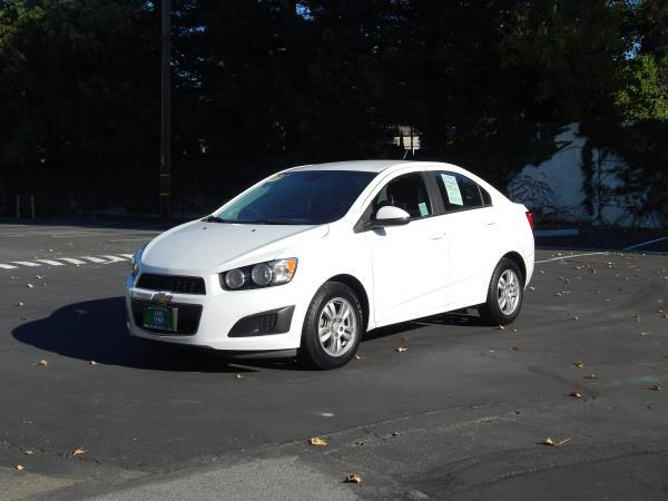 2013 CHEVROLET SONIC white 6 speed automatic 108790 miles Stock 2484 VIN 1G1JC5SH9D4150336