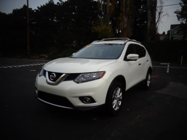 2014 NISSAN ROGUE white 57443 miles Stock 2488 VIN 5N1AT2MLXEC863661