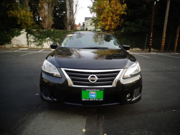 2014 NISSAN SENTRA super black 5speed 46363 miles Stock 2489 VIN 3N1AB7APXEY316993