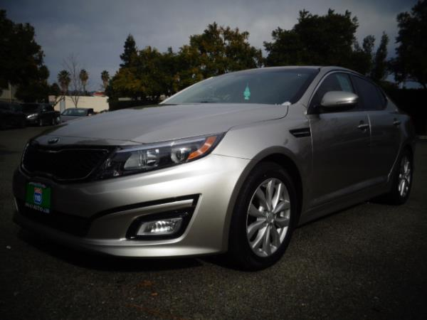 2014 KIA OPTIMA champain 5 speed automatic 46091 miles Stock 2508 VIN 5XXGM4A7XEG351655