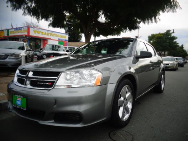 2013 DODGE AVENGER dark gray 5 speed automatic 88295 miles Stock 2510 VIN 1C3CDZABXDN757006