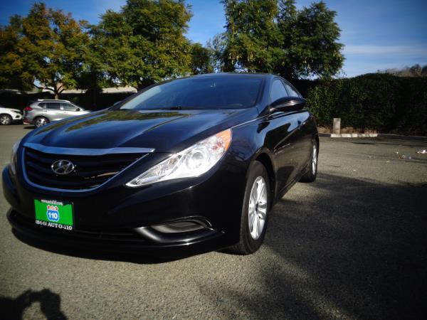 2013 HYUNDAI SONATA black 5 speed automatic 75160 miles Stock 2511 VIN 5NPEB4AC8DH700860