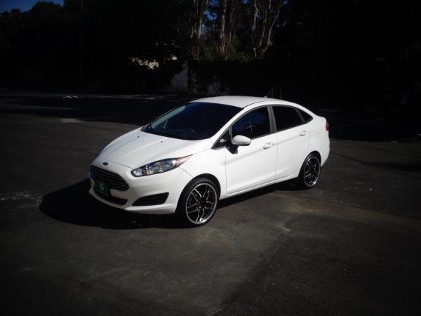 2016 FORD FIESTA white 5 speed automatic 9685 miles Stock 2524 VIN 3FADP4AJ0GM207240