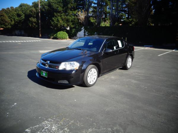 2013 DODGE AVENGER black 5 speed automatic 60731 miles Stock 2531 VIN 1C3CDZAB4DN741853