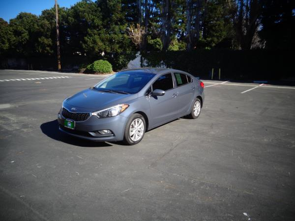 2014 KIA FORTE bluegray 5 speed automatic 83467 miles Stock 2532 VIN KNAFX4A83E5051310