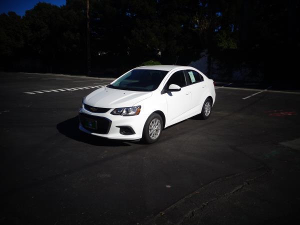 2017 CHEVROLET SONIC white 6 speed automatic 30371 miles Stock 2534 VIN 1G1JD5SG4H4123197