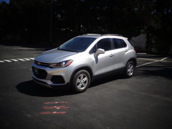 2017 CHEVROLET TRAX silver 5 speed automatic 31158 miles Stock 2554 VIN 3GNCJLSB8HL163057