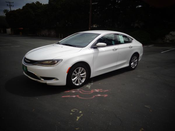2015 CHRYSLER 200 white 35234 miles Stock 2559 VIN 1C3CCCAB5FN627220