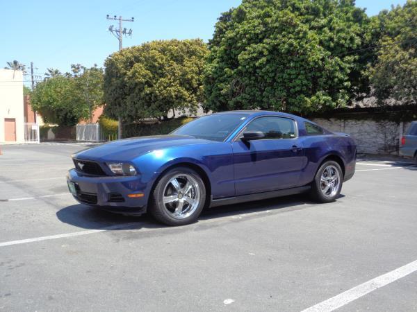 2010 FORD MUSTANG blueblack 118980 miles Stock 2590 VIN 1ZVBP8AN5A5101534