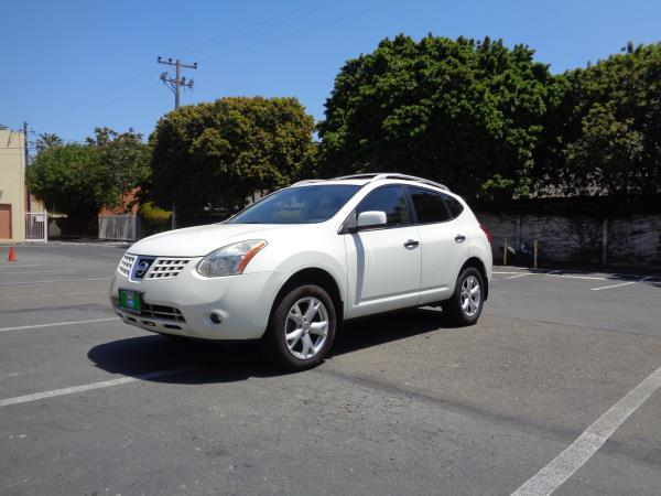 2010 NISSAN ROGUE whitegary automatic cvt 104299 miles Stock 2592 VIN JN8AS5MV6AW106117