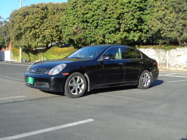 2006 INFINITI G35 blackgary 4 speed automatic 121755 miles Stock 2593 VIN JNKCV51E76M517852