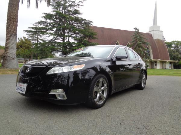 2009 ACURA TL black 5 speed automatic 109800 miles Stock 2595 VIN 19UUA96579A000978