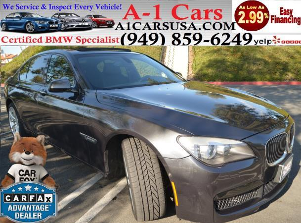 BMW 7 SERIES 740I M PACKAGE 740I