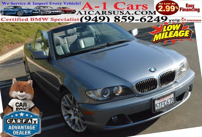 BMW 3 SERIES 330CI CONVERTIBLE 330CIC