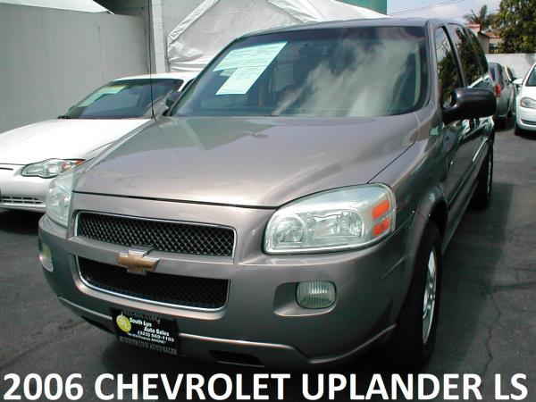 2006 CHEVROLET UPLANDER LS brown automatic air conditioneramfm radioanti-lock brakescd playe