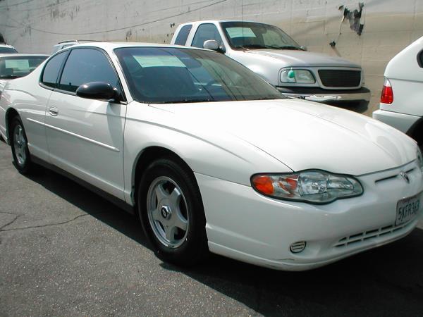 2004 CHEVROLET MONTE CARLO LS whitegray auto air conditioneralarmamfm radioanti-lock brakes
