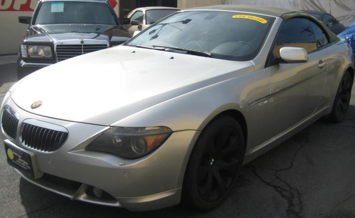 BMW 6 SERIES 645CIC