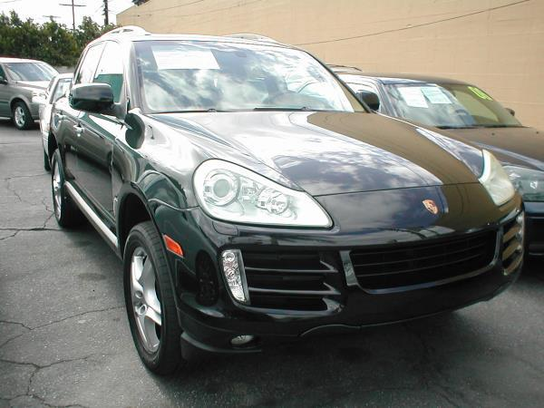 2008 PORSCHE CAYENNE SPORT green metallic automatic air conditioneralarmamfm radioanti-lock