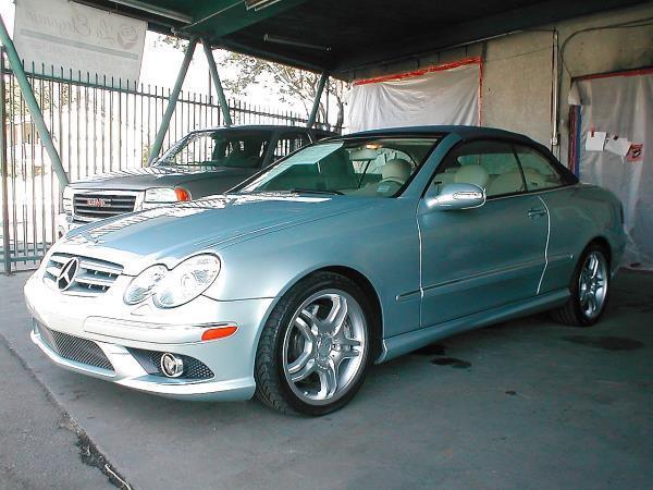 2008 MERCEDES CLK550 blue auto air conditioneralarmamfm radioanti-lock brakescd changerchi