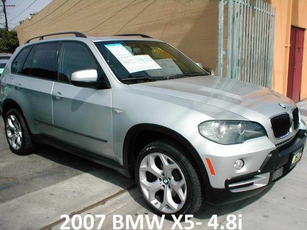 BMW X5- 4.8i