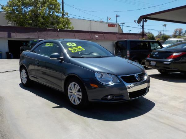 2008 VOLKSWAGEN EOS greyctream 6 speed automatic air conditioneralarmamfm radioanti-lock br