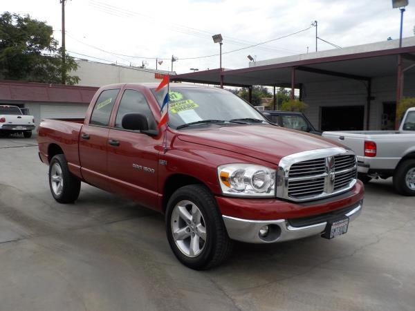 2007 DODGE RAM PICKUP winetan auto air conditioneralarmamfm radioanti-lock brakescd player