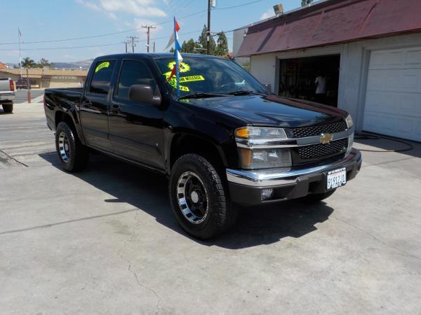 2008 CHEVROLET COLORADO CREW CAB blackblack auto air conditioneralarmamfm radioanti-lock br