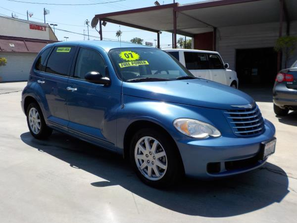 2007 CHRYSLER PT CRUISER bluegrey auto air conditioneralarmamfm radioanti-lock brakescd pl