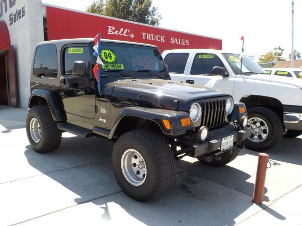 2004 JEEP WRANGLER SAHARA blacktan auto air conditioneramfm radioanti-lock brakescd player