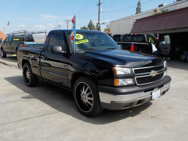 2007 CHEVROLET SILVERADO CLASSIC blackcharcole auto air conditioneralarmamfm radioanti-lock