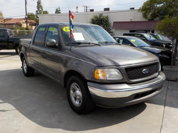 2002 FORD F150 charcloegrey auto air conditioneralarmamfm radioanti-lock brakescd playerc