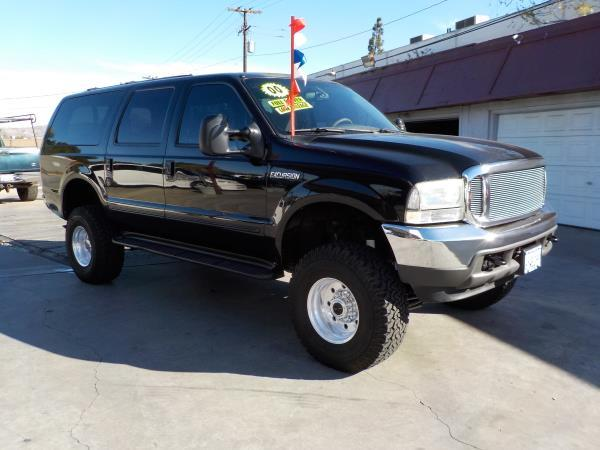 2000 FORD EXCURSION blacktan auto air conditioneralarmamfm radioanti-lock brakescd player