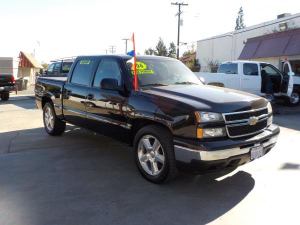 2006 CHEVROLET SILVERADO blackcharcole auto air conditioneralarmamfm radioanti-lock brakes