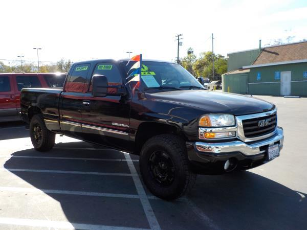 2004 GMC SIERRA 1500 X CAB 4WD blackcharcole auto air conditioneralarmamfm radioanti-lock b