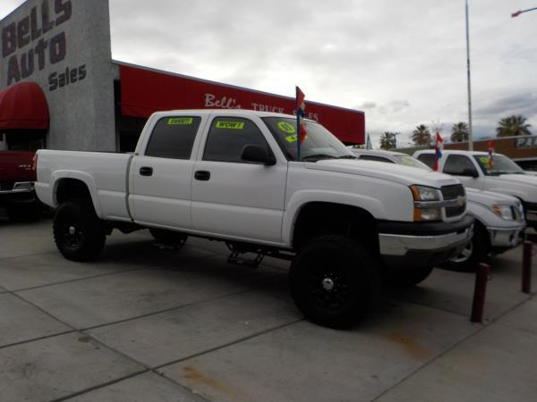 2003 CHEVROLET SILVERADO 1500 HD whitegrey auto air conditioneralarmamfm radioanti-lock bra