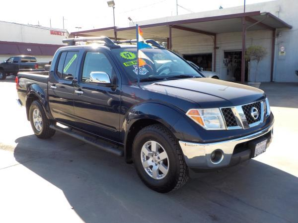 2007 NISSAN FRONTIER bluegrey auto air conditioneralarmamfm radioanti-lock brakescd change