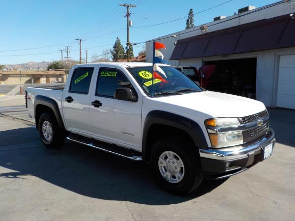 2005 CHEVROLET COLORADO Z71 whitegrey auto air conditioneralarmamfm radioanti-lock brakesc