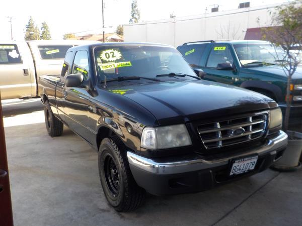 2002 FORD RANGER SUPER CAB blackgrey auto air conditioneralarmamfm radioanti-lock brakescd