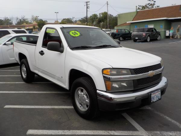 2008 CHEVROLET COLORADO whitegrey auto air conditioneramfm radioanti-lock brakescruise cont