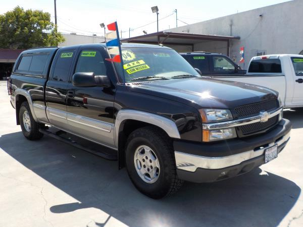 2004 CHEVROLET SILVERADO blacksandstonegrey  automatic air conditioneralarmamfm radioanti-