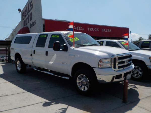 2006 FORD F-350 CREW LONG BED whitegrey auto air conditioneramfm radioanti-lock brakescd ch