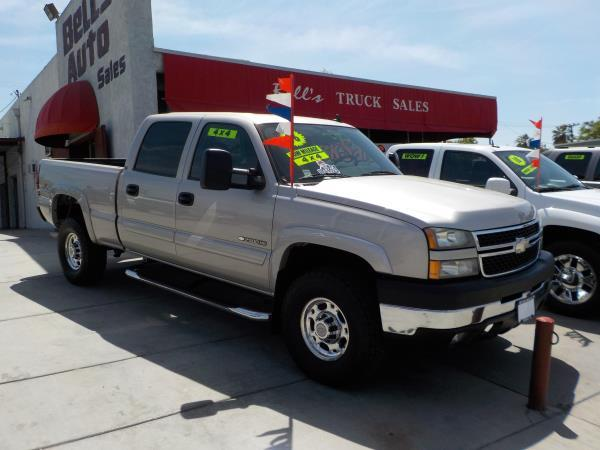 2006 CHEVROLET SILVERADO 2500HD 4WD silverbirchcharcole automatic air conditioneralarmamfm r