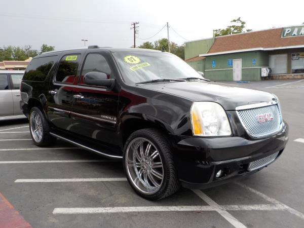 2007 GMC YUKON XL blackblack auto air conditioneralarmamfm radioanti-lock brakescd player