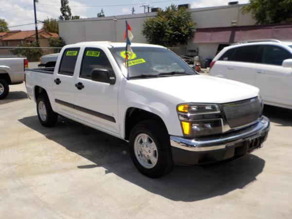 2006 GMC CANYON whitecharcole auto air conditioneralarmamfm radiocd playerchild-safety lat