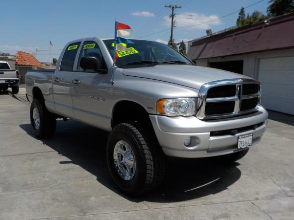 2005 DODGE RAM PICKUP silvercharcole automatic air conditioneralarmamfm radioanti-lock brak