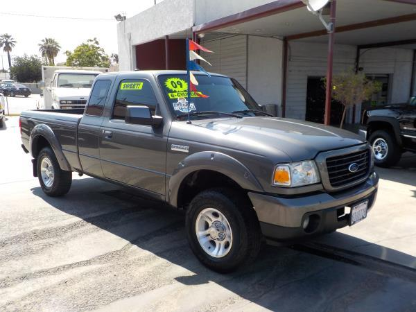 2009 FORD RANGER SPORT grayblack automatic air conditioneralarmamfm radioanti-lock brakesc