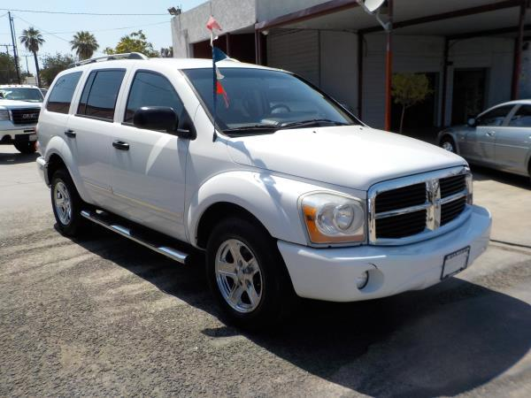 2006 DODGE DURANGO whitegrey auto air conditioneralarmamfm radioanti-lock brakescd changer