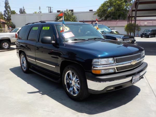 2005 CHEVROLET TAHOE bluegrey auto air conditioneralarmamfm radioanti-lock brakescd player